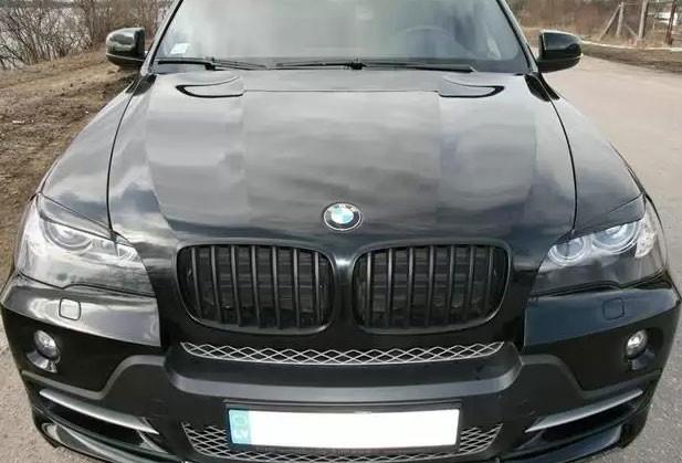 Накладки на фары (реснички) BMW X5 E70