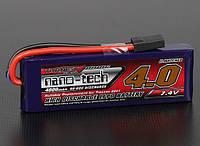 Аккумулятор Turnigy nano-tech 4000mah 2S 40~80C Lipo Pack (TRA2841, подходит к Slash/Rustler/Bandit/Stampede)