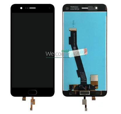 Модуль Xiaomi Mi Note 3 black + кнопка home дисплей экран, сенсор тач скрин Сяоми Ксиоми Ми Нот 3