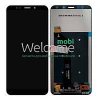 Модуль Xiaomi Redmi 5 Plus black (оригинал) дисплей экран, сенсор тач скрин Сяоми Ксиоми Редми 5 +
