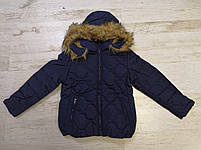 Куртки на меху для девочек оптом, Glo-Story, 134/140-170 рр., арт. GMA-4441, фото 3