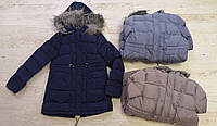 Куртки на меху для девочек оптом, Glo-Story, 134/140-170 рр., арт.GMA-4431
