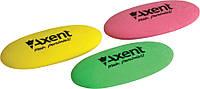 Ластик овальный Axent асорти 1181-А