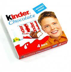 Киндер шоколад полосочки, 10 г