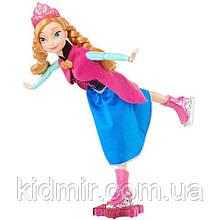 Дісней принцеса Ганна Лялька на ковзанах Холодне серце Anna Frozen Mattel Disney