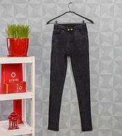 Женские джинсы/джеггинсы стрейч,черные