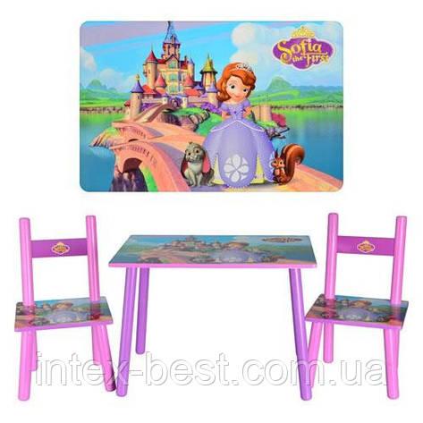 Детский столик с двумя стульчиками Bambi M 2261, фото 2