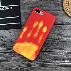 Чехол накладка силикон THERMOCASE iPhone 6/6s - Red/Yellow