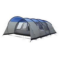 Кемпинговая палатка High Peak Leesburg 5 (Grey/Blue), фото 1