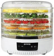 УЦЕНКА!Сушка для фруктов и овощей Gorenje FDK 500 GCW