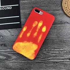 Чехол накладка силикон THERMOCASE iPhone 6 Plus/6s Plus - Red/Yellow