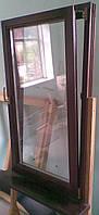 Деревянные евроокна из клееного бруса (сосна, дуб)