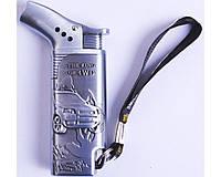 Зажигалка газовая боковая THE KING (турбо пламя) №4747-1