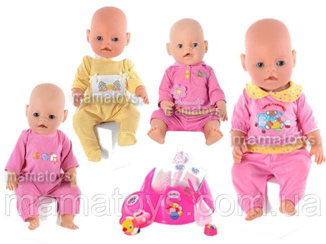 Пупс кукла, Беби борн Ляля 8001-1-2-3 R 9 функций