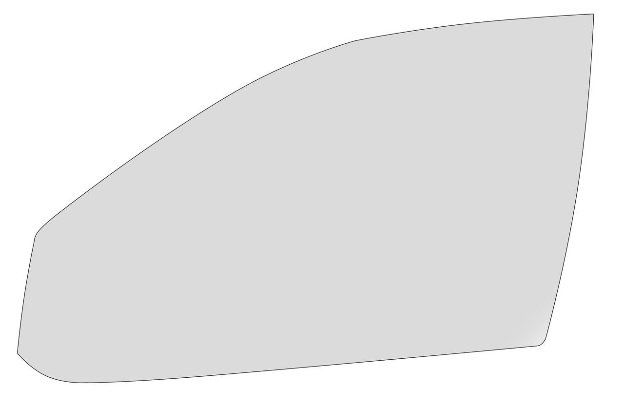 Стекло XYG передней левой двери для Skoda (Шкода) Octavia (1997-2010)