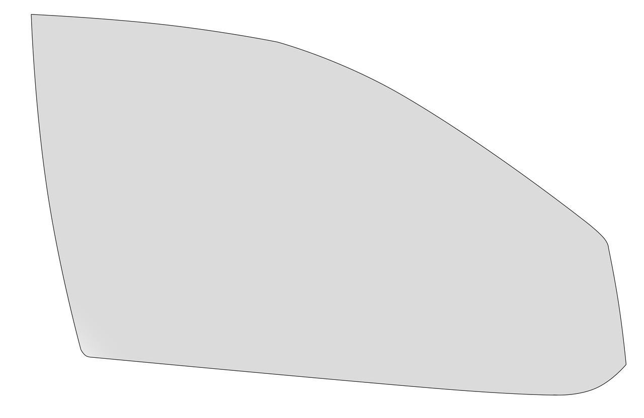 Стекло XYG правой передней двери для Skoda (Шкода) Octavia (1997-2010)