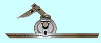 Угломер универсальный с линзой 0-360°, цена деления 5 минута
