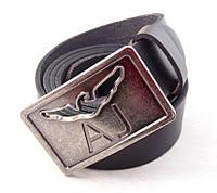 Мужской кожаный ремень Armani Jeans, фото 1