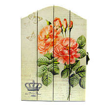 Ключница деревянная на стену для декора