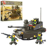 Конструктор SLUBAN M38-B0285 армия, танк, фигурки, 224 детали