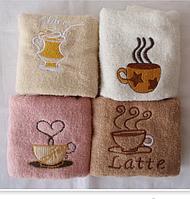 Полотенце Чашка кофе 35х70