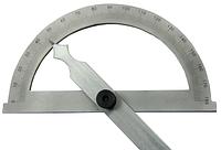 Угломер-транспортир диаметр 150мм линейка 300мм  цена деления 1°