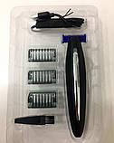Многофункциональный триммер Micro Touch Solo с 3-мя насадками, мужской триммер-бритва для бороды, фото 4