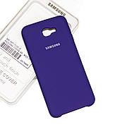 Силиконовый чехол на Samsung J5 Prime Soft-touch Violet
