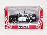 Hoku Машинка метал KINSMART инер-я, 1:42 FORD MUSTANG GT POLICE 2006, в кор-ке