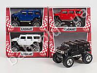 Hoku Машинка метал KINSMART инер-я, 1:40 HUMMER H2 SUV 2008 OFF ROAD, в кор-ке