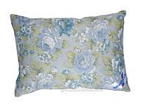 Трехкамерная подушка Billerbeck Лидия голубые цветы 50х70 см вес 900 г