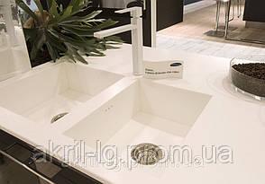 Кухонные мойки белого цвета