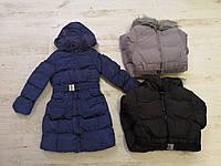 Зимняя куртка-пальто  на девочку оптом, Glo-story, 134/140-170 рр
