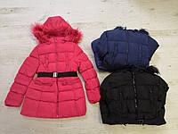 Зимняя куртка-пальто  на девочку оптом, Glo-story, 134/140-170 рр, фото 1