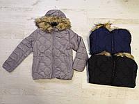 Зимняя куртка на девочку оптом, Glo-story, 134/140-170 рр, фото 1