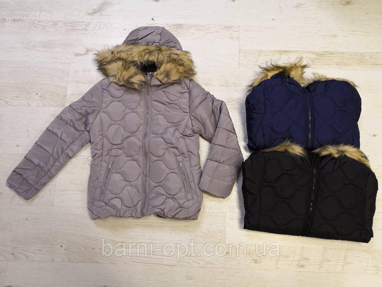 Зимняя куртка на девочку оптом, Glo-story, 134/140-170 рр