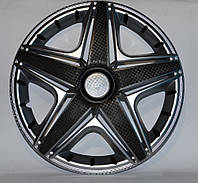 Колпаки колес Star NHL Super Silver R16 (карбон)