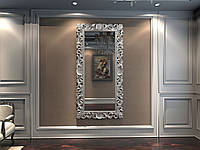 Зеркало резное в серебряной раме MIRROR 001(S)