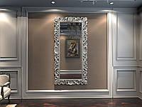 Зеркало резное в серебряной раме MIRROR 001(S), фото 1