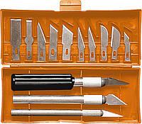 Набір різців по дереву, пластмасові ручки, 13 шт.// SPARTA