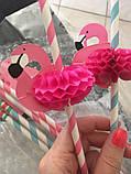 """Коктейльные трубочки """"Фламинго"""" 10шт., фото 4"""