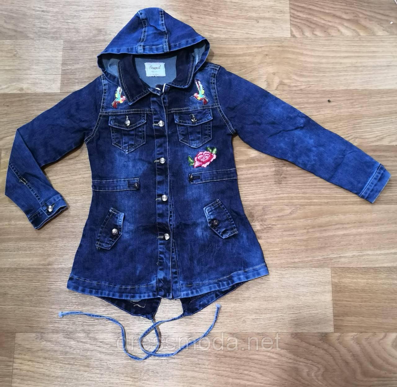 5b4a14ef Джинсовые куртки для девочек Seagull 134-164 р.р.: продажа, цена в ...