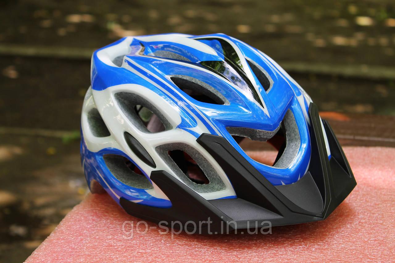 Шлем велосипедный Roswheel blue