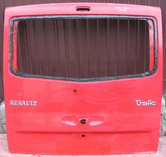 Дверь задняя, ляда Рено Трафик(Renault Trafic)