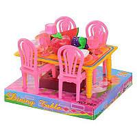 Столовая 967 стол, 4 стула 14см