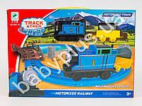 Железная дорога Thomas, локомотив, вагон, на бат-ке, в кор-ке