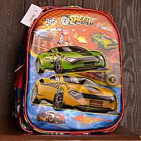 Рюкзак школьный FN1412 Speed Car с машинками для мальчика, фото 1