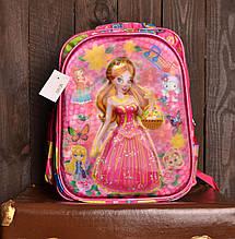 Рюкзак шкільний MC1410 з принцесою для дівчаток