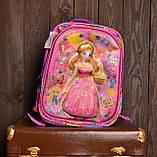 Рюкзак шкільний MC1410 з принцесою для дівчаток, фото 4