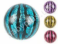 Мяч детский, 9 дюймов, арбуз, прозрачный, 75г, 4 цвета